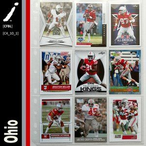 Ohio State Buckeyes 9 Card Lot [CFBL] [C4_10_1]
